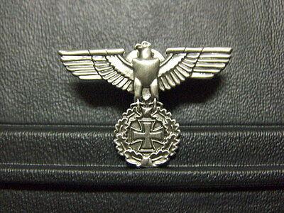 Pin Reichsadler mit Eiserenem Kreuz Wehrmacht - 3 x 4 cm