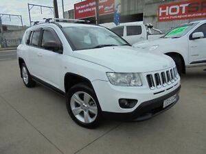 2012 Jeep Compass MK MY12 Sport White 6 Speed Continuous Variable Wagon Granville Parramatta Area Preview