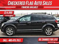 2009 Dodge Journey R/T W/ Heated Leather-AWD-DVD