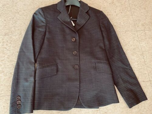 Tailored Sportsman Charcoal YOUTH Hunt COAT Size 14 *VGC* Wool Blend