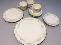 "Royal Doulton ""Stephanie"" Three 5-Piece Place Settings"