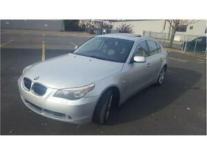 2006 BMW 5 Series 525xi FULL 155,000km, Très PROPRE!