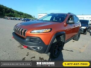 2016 Jeep Cherokee Trailhawk GPS Cuir-Ventil  Pano Bluetooth Hit