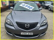 2005 Mazda 3 BK10F1 Neo Grey 4 Speed Sports Automatic Hatchback Kogarah Rockdale Area Preview