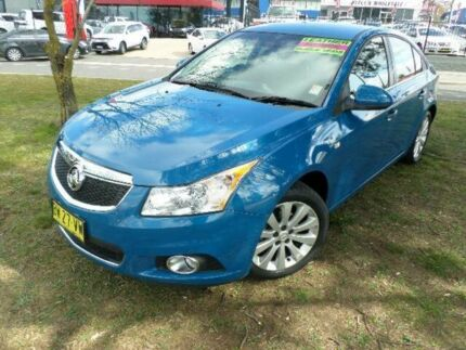 2013 Holden Cruze JH MY14 CDX Blue 6 Speed Automatic Sedan Belconnen Belconnen Area Preview