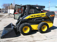 2010 New Holland skid steer Loader L190 - 1854hrs. 90hp
