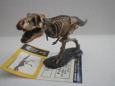 Chocolasaurs Dinotales #002 Tyrannosauru skelton ver. kaiyodo