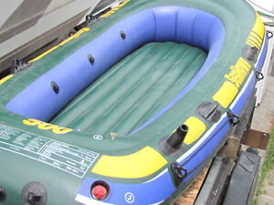 10 foot inflatable Sea Hawk 400 boat