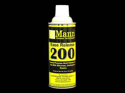 Mann Ease Release 200 Silicone to Silicone, Urethane, Epoxy, Mold Release Agent