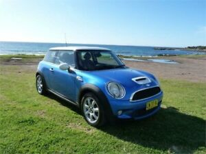 2007 Mini Cooper R56 S Blue 6 Speed Automatic Hatchback Fairy Meadow Wollongong Area Preview