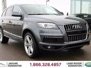 2015 Audi Q7 SPORT S-Line - Local Alberta Trade In | No Acciden