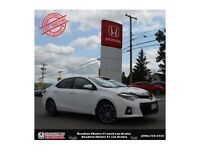 2014 Toyota Corolla Sport, Back Up Camera, One owner!!