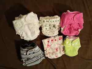 Cloth diapers - couches lavables