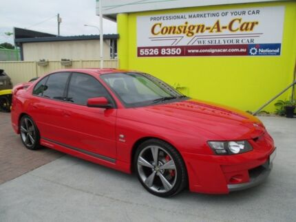 2003 Holden Special Vehicles Clubsport Y Series 2 R8 Red 6 Speed Manual Sedan