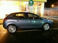 Blue fiat bravo 1.9 diesel 150bhp.. great on fuel .. lots of history