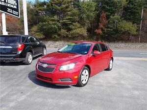 2013 CHEVROLET CRUZE LT...LOADED!! BLUETOOTH PHONE CONNECTIVITY!