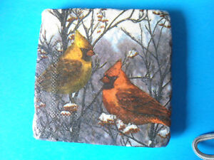 Coasters - various  patterens on stone
