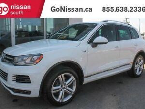 2014 Volkswagen Touareg Execline, TDI, R LINE, LEATHER, PANORAMI