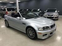 2003 BMW M3 CONVERTIBLE 6SPEED NO ACCIDENTS EXCELLENT CONDITION