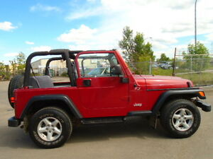 1998 Jeep TJ SPORT CONVERTIBLE W/REMOVABLE HARDTOP-AMAZING