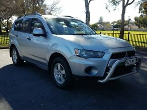 2011 Mitsubishi Outlander ZH MY11 LS 6 Speed Constant Variable Wagon Blair Athol Port Adelaide Area Preview