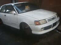 Toyota Starlet 1980-1999 breaking for spare parts alloys engines etc