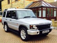 2003 Land Rover Discovery ES TD5 7 SEAT Auto Silver