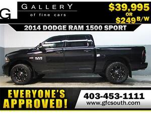 2014 DODGE RAM SPORT CREW *EVERYONE APPROVED* $0 DOWN $249/BW!