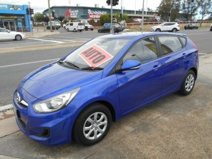 2013 Hyundai Accent RB2 Active Blue 4 Speed Sports Automatic Hatchback Fyshwick South Canberra Preview