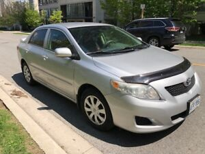 2009 Toyota Corolla Auto transmission HWY 190 KM E Tested Power