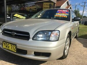 1999 Subaru Liberty MY99 GX (AWD) Gold 5 Speed Manual Sedan Islington Newcastle Area Preview
