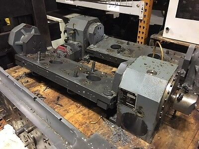 Peiseler AWUP 160 NC Rotary Table w/ Tailstock, Fanuc Motor, Mfg'd 2005 (2) Used
