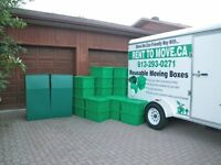 Moving boxes for Rent.