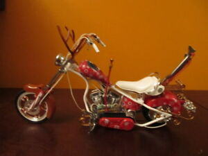 OCC Christmas bike replica scale 1:10