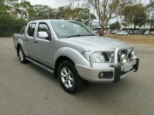 2013 Nissan Navara D40 MY12 ST (4x4) Silver 6 Speed Manual Dual Cab Pick-up Gilles Plains Port Adelaide Area Preview
