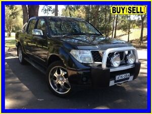 2006 Nissan Navara D40 ST-X (4x2) Black 5 Speed Automatic Dual Cab Pick-up Lansvale Liverpool Area Preview