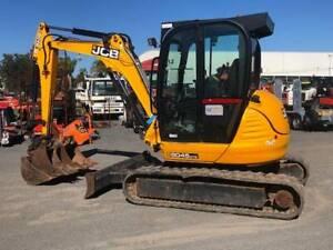 JCB 8045ZTS CAB EXCAVATOR (H) Hexham Newcastle Area Preview