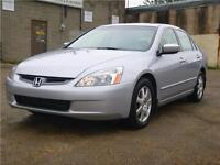 Awesome Shape Fully Inspected 2005 Honda Accord Sdn EX V6 loaded
