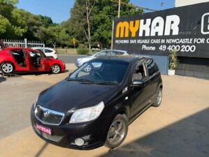 2009 Holden Barina TK MY10 Black 4 Speed Automatic Hatchback