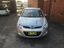 2011 Hyundai i20 PB MY12 Active Silver 4 Speed Automatic Hatchback Cardiff Lake Macquarie Area Preview