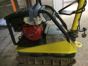 HOC WACKER REVERSIBLE PLATE TAMPER COMPACTOR MODEL 5045H + FREE SHIPPING + FREE 90 DAY WARRANTY !!!!!!!!!!!!!!!