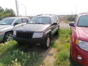 1999 Jeep GRAND CHEROKEE 4WD LIMITED For Sale Edmonton