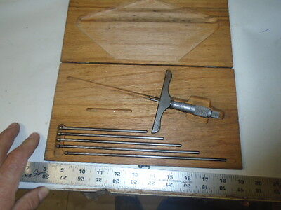 Machinist Tlathe Mill Machinist Starrett Depth Gage S Gauge S Micrometer