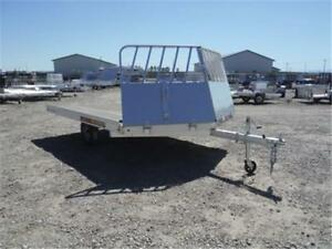 PRICED TO CLEAR!! ALL-ALUMINUM SLED/ATV TRAILERS!! ~TAXES IN~