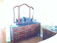 TWO DRESSERS - SOLID WOOD