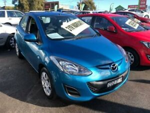 2011 Mazda 2 DE10Y2 MY12 Neo Blue Automatic Hatchback Lidcombe Auburn Area Preview