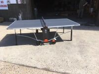 Cornilleau 150S Table Tennis Table - Dent On Frame