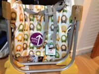 Joie Baby Mimzy Snacker Owl Highchair, great condition