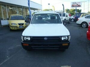 1992 Toyota Hilux White Manual Utility Eight Mile Plains Brisbane South West Preview