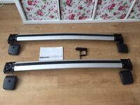 Volvo - Wing Profile roof bars - for noise reduction and sporty look (V50, genuine Volvo part)
